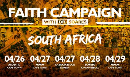Campanhas de Fé na Africa do Sul